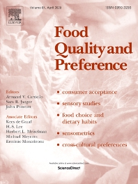 Food Quality and Preference - Score de sentiments